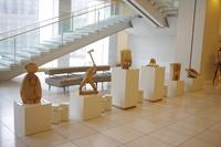 木彫講座展示