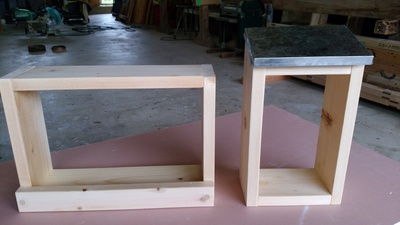 明日、もくもく工房倉庫にて「木工体験教室」します。