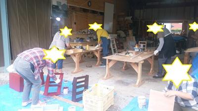 木工教室ありがとうございました。^^