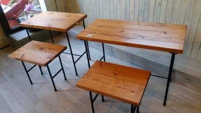 もくもく工房の「初市マルシェ」の木工♪