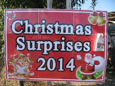 昨日は「クリスマス サプライズ」ありがとうございました。