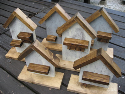 木工雑貨(お家)出来上がりました~。