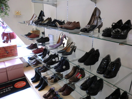 靴の大野さんCM撮影