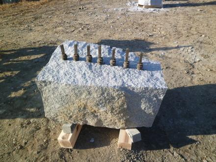 石割りセレモニー