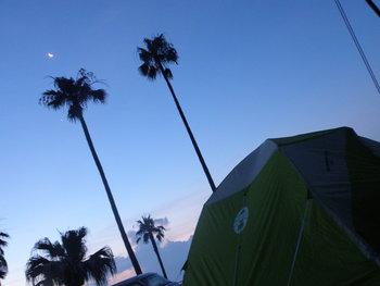 初・キャンプ^^