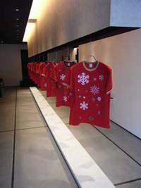 久米繊維プレスルームがクリスマスバージョンに!
