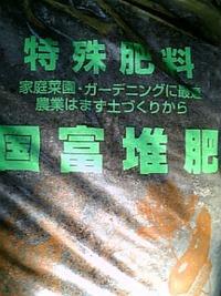 達人の肥料! (^v^)