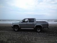 海とトラック♪
