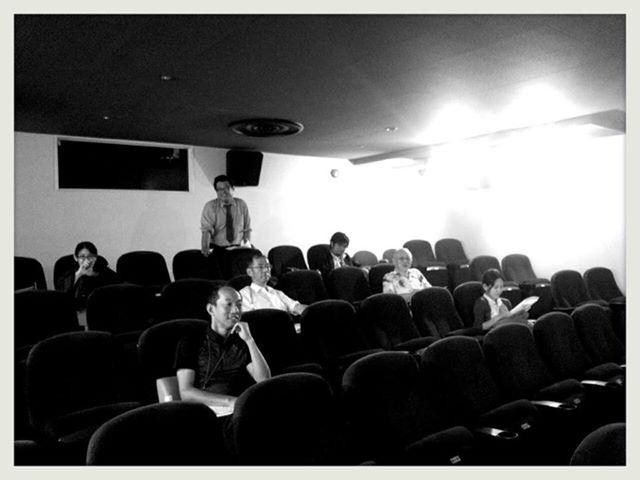 みやざき自主映画祭の選考会が行われました。