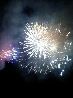 木城の花火