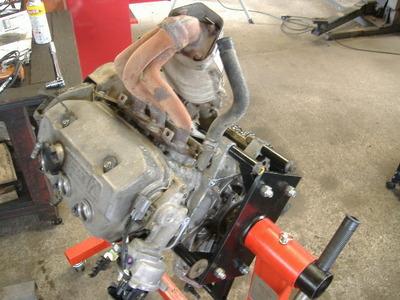 E07A エンジンオーバーホール