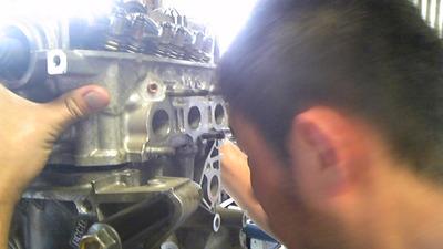 ビート エンジンオーバーホール
