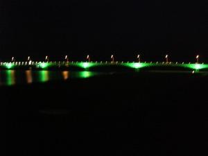 赤江大橋のライトアップ