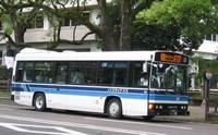 宮崎県庁から平和台公園へノンステップバスに乗りました