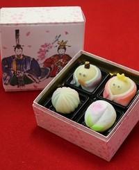 お雛さまの和菓子 2013/02/18 20:19:10