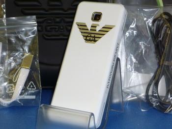 新品同様SoftBank★ARMANI 830SC携帯入荷!