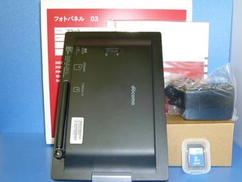 新品未使用★docomo☆フォトパネル03★入荷!