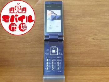 モバイル市場☆中古★au☆W62SH★格安☆白ロム★携帯本体☆入荷!