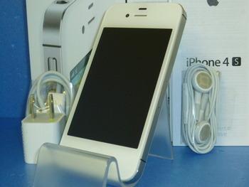 新品未使用☆au★iPhone4S 64GB☆格安携帯★完売