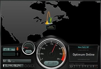 iPhone5のLTE速度調査