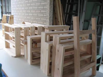 №①3月からのイベントに持っていく木工