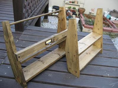 出来上がり木工。