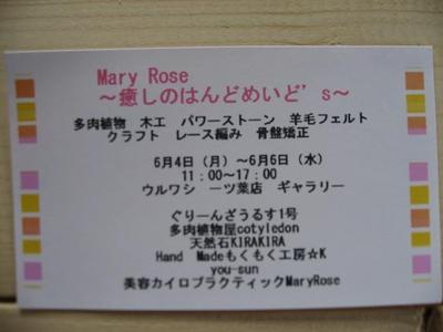 Mary Rose ~癒しのはんどめいど s~