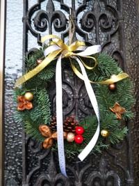 我が家のクリスマスリース