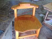 椅子をきれいに!