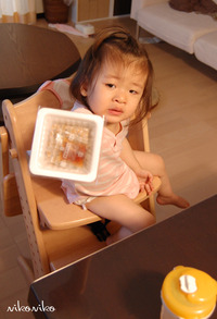 生後1歳8か月  納豆大好き