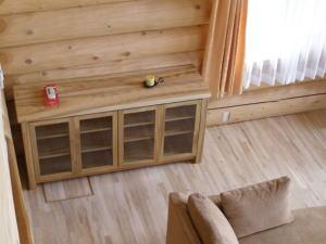 ログキャビンの家具