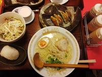 麺屋勝水さんのヘルシーランチ♪
