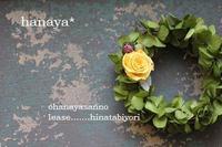 お花屋さんのリース 2012/03/12 17:59:12