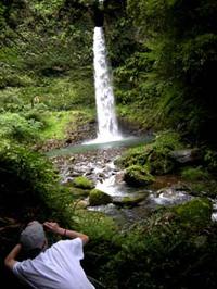 小布施の滝での写真WS・4!
