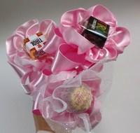 バレンタインには手作りの花チョコを!!