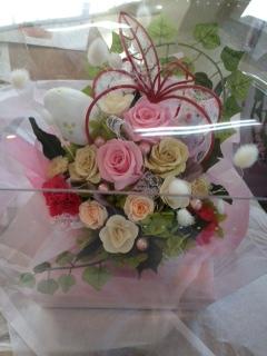今日のお花&work shopのご案内