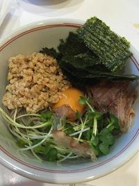 納豆蕎麦d(^_^o)