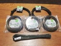 ワイヤー各種とペンチ&ニッパー入荷しています。