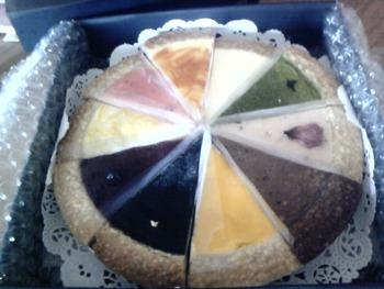 だ・だ・大好きなケーキが・・・