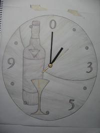 オーダー時計のスケッチ№2