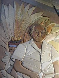 おじいちゃん先生の肖像(仕上げ)