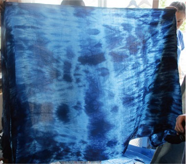 『藍染アート』 インド藍で楽しむ情景
