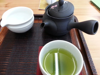 日本茶専門店さんへ