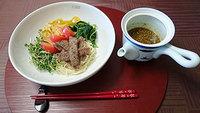食医食 男の料理・冷やし中華とおくらのサラダ