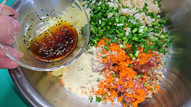 2品同時に作る卯の花料理