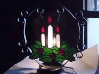 クリスマスキャンドルのランプ!