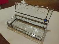クリアガラスのBOX!
