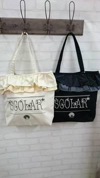 SCOLAR新作バッグ&ポーチ入荷しまし・・・