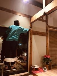 窓枠塗り お家のリノベーション⑧