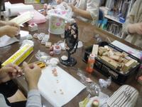 今日は粘土教室
